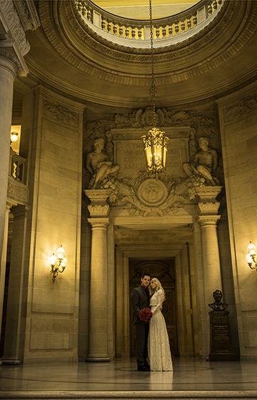 City Hall Wedding: Civil Ceremony, Photography, Witness included in package
